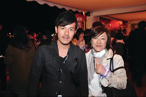 Ryuta Hattori and Mika Morishita